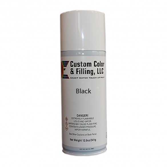 Durables 12-oz. Can Of Smooth Finish Black Touch-Up Paint - ABAL-PAINT-SMTH