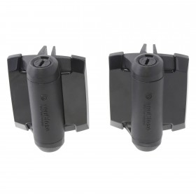 Elite Aluminum Fence TruClose Standard Gate Hinge, 2 Side Legs (Pair)