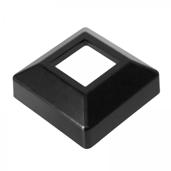 "Single Piece Cover Plate for 2"" Floor Flange - Flange Cover Black"