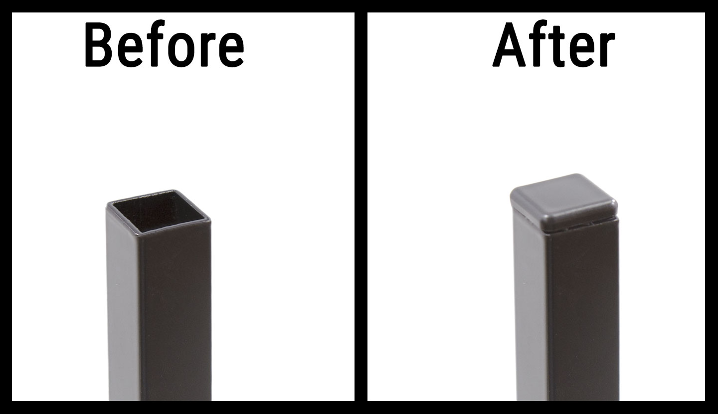 Before and After Picket Plug